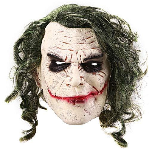 Clown Masken Von The Dark Knight - ABUKJM Masken Für Erwachsene Joker Mask