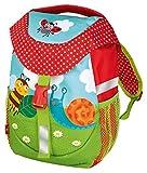 moses. Krabbelkäfer Rucksack für Kinder | Kindergartentasche mit Brustgurt | Für Mädchen und Jungen Kinder-Rucksack, 30 cm, Bunt
