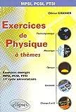 Exercices de physique