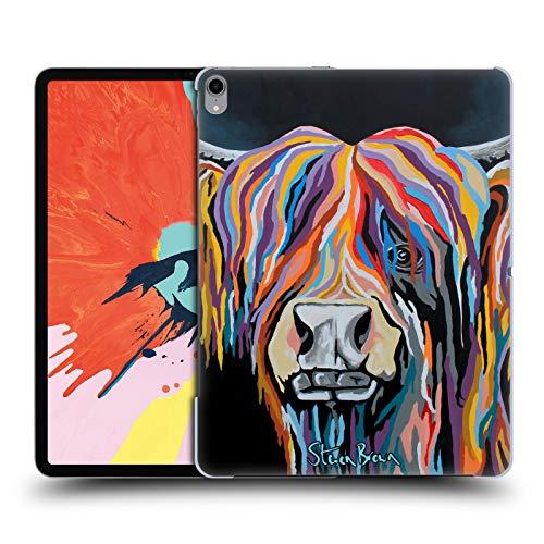 Head Case Designs Offizielle Steven Brown Ally Mccoo Hochland Kuh Sammlung 1 Harte Rueckseiten Huelle kompatibel mit iPad Pro 12.9 (2018) - Brown Ally