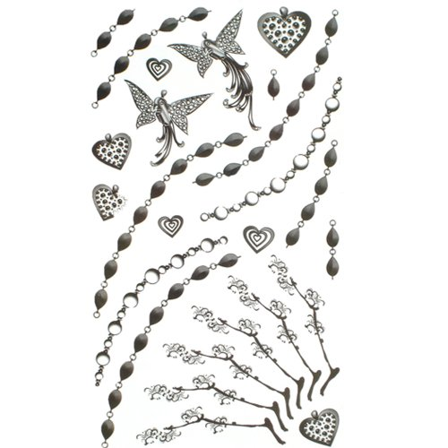 king-horse-jewelry-tattoo-sticker-body-painted-butterfly-pattern-chain-of-love-tatuajes-temporales
