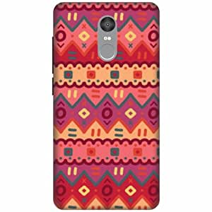 Xiaomi Redmi Note 4 Printland Back Cover Printed Hard Plastic-Multicolor
