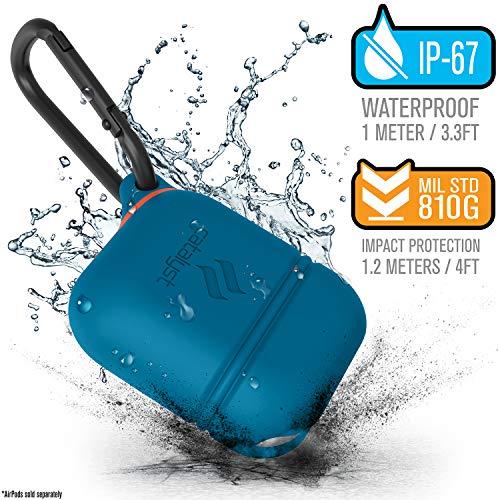 Catalyst Apple Airpods Case Impermeable, Custodia Airpods Apple Cuffie Wireless Protettive Accessori, Accessori airPods - Blueridge/Sunset