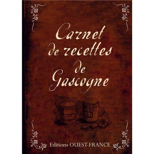 Carnet de recettes de Gascogne