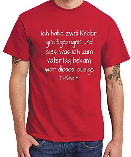 -- Lausiges Vatertagsshirt -- Boys T-Shirt Rot