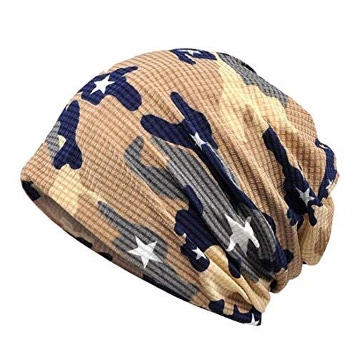CGXBZA Baumwolle Dünne Herbst Winter Mützen Für Frauen Männer Hut Hiphop Helm Liner Sport Hut Camouflage Army Fashion -