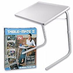 VelKro New Table Mate II Folding Table for Home Office Laptop Dining Reading