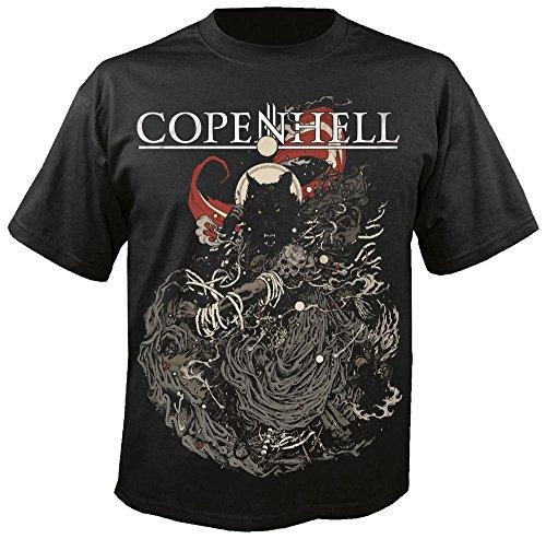 COPENHELL Festival - Maskot 2015 - T-Shirt Größe XXL