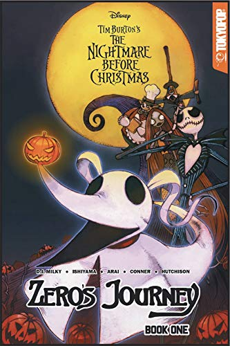 (Disney Manga: Tim Burton's The Nightmare Before Christmas - Zero's Journey)