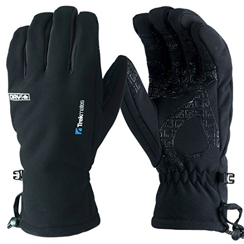 Trekmates Robinson Glove Black Large by Trekmates