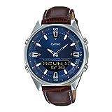 Casio Enticer Analog-Digital Blue Dial Men's Watch -...
