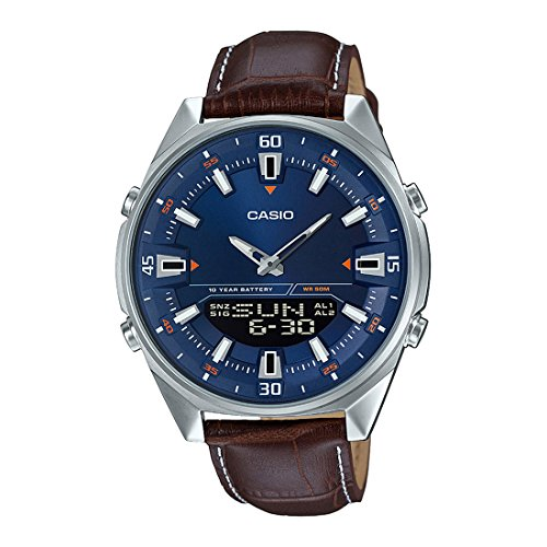 Casio Enticer Analog-Digital Blue Dial Men's Watch