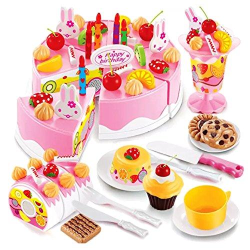 Webby Musical DIY Birthday Cake Toy (75 Pieces)