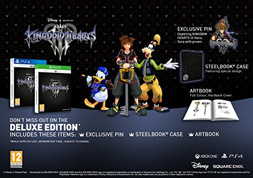Kingdom Hearts 3 Deluxe Edition  galerija