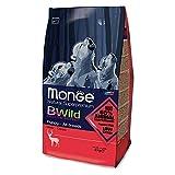 Monge Bwild Cane Puppy Cervo kg. 2 Alimenti Secchi Monoproteici per Cani