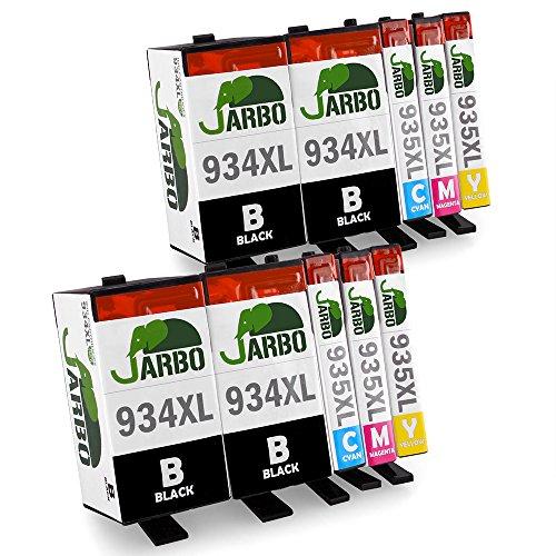 JARBO Kompatibel HP 934 XL 935 XL Tintenpatronen Hohe Kapazität (4 Schwarz,2 Cyan,2 Magenta,2 Gelb)...