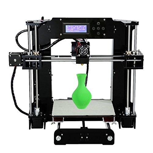 Anet X6 High Speed Precision DIY 3D Drucker Printer Kit mit größerer Druckgröße 220*220*250mm | PLA ABS 1.75mm Filament | Auto-Nivellierung | Technischer Support - 4