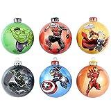 Marvel - Bolas Oficiales de los Vengadores (6 Unidades)