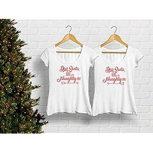 Weihnachts T-Shirts für Zwei Damen T-Shirt mit Spruch