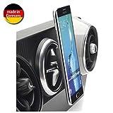 Smart Planet® hochwertige Magnet Handyhalterung für Das Lüftungsgitter im Auto Handy Halterung für z.B. Samsung Galaxy S8, S7, OnePlus 6
