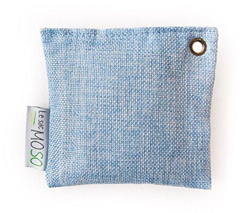 Die Tasche Moos Version Mini 75g-Luftreiniger, Lufterfrischer, natur und ohne Geruch Holzkohlegrill Bambus-Speziell für Kühlschrank und geschlossenen Räumen (Sport-lufterfrischer)