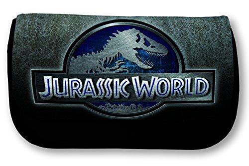 Estuche escolar negro de Jurassic World