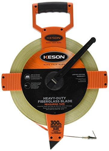 Keson OTR18M300 300-Feet Open Reel Fiberglass Tape Measure by Keson (Tape Open Reel)