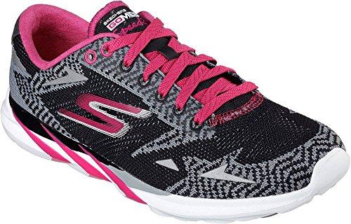 Skechers - Go Meb Speed 32016, Scarpe da ginnastica Donna Black/pink