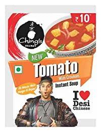Ching's Secret Instant Soup (Pack of 20 - Any Flavor) (Tomato Soup with Crouton)