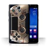 Stuff4 Hülle / Case für Huawei Honor 3C / Wüstentarnung Muster / Playstation PS4 Kollektion