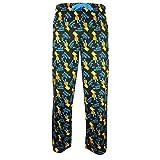 Officiel Bart Simpson Spray Paint Lounge Pants Noir - Pyjama ...