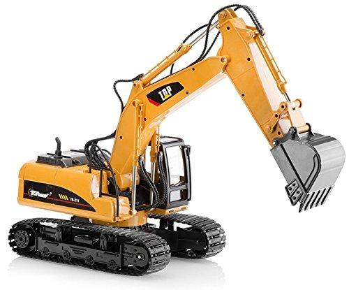 El metal superior de la raza muere el tractor del juguete de la constr