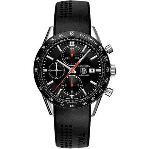 TAG Heuer Herren CV2014.FT6007 Carrera Automatic Chronograph Legend Uhr