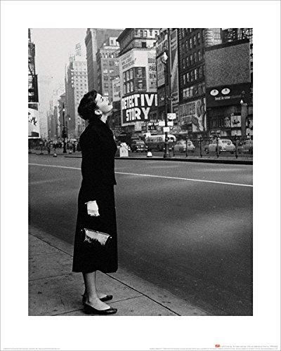 Audrey Hepburn - Broadway Kunstdruck 40 x 50 cm ()