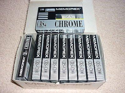 memorex-crs-100-chrome-blank-cassette