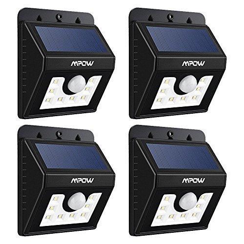 LED Solar Motion Sensor Lights, ...