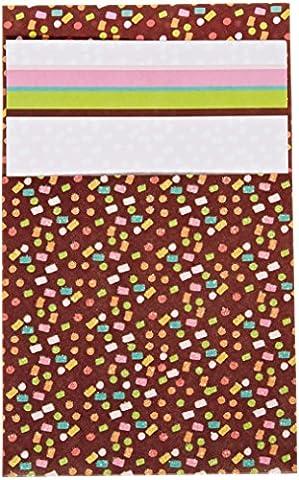 Mara-mi Confettis Glitterette Imprintable Invitation, 10-count (45993)