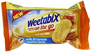 Weetabix Breakfast Biscuits Milk and Cereals 50 g (Pack of 16)
