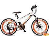 Mountainbike 20 Zoll Zonix Astro Boy MTB Weiß-Orange
