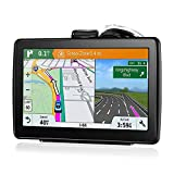 Goglor Vehicle GPS Navigation,Car Navigator with 7 Inch Touch Screen,Real Time Voice Broadcast,Truck