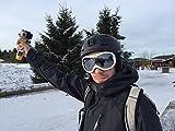 Bobber Sci Snowboard mano Treppiede galleggiante a mano galleggiante per Rollei Bullet 3S/4S 5S 50S treppiede cinturino da polso