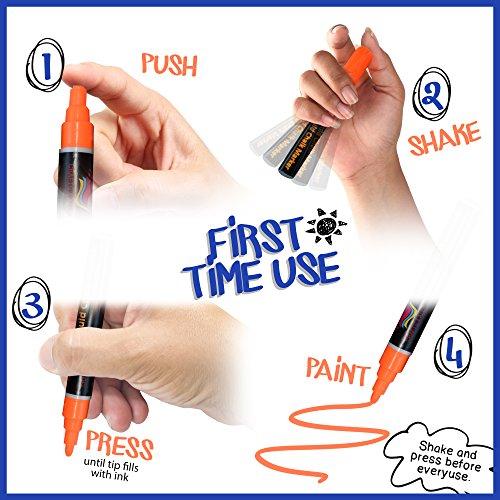 artigianato-4-ogni-8-pezzi-brilliant-bright-colours-liquid-chalk-ink-pens-3-mm-bullet-nib-dry-wipe-e