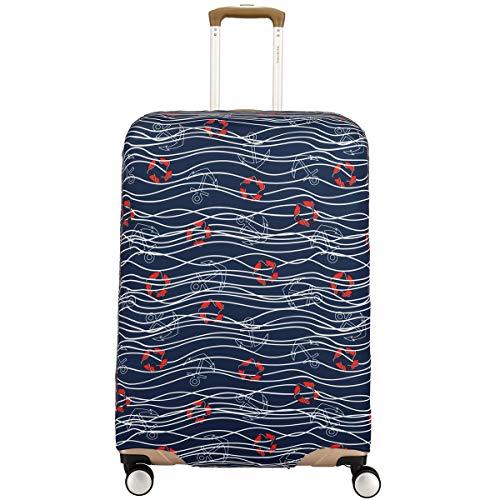 Travelite Universal Kofferschutzbezug Luggage Cover Kofferhülle Kofferschutzhülle M, Farbe:Modell 4 - Abdeckung Dehnbare Koffer