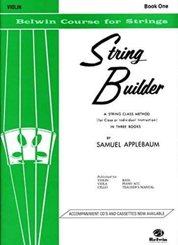 String Builder: Violin Book 1 (Belwin Course for Strings)