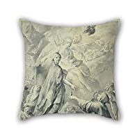 beautifulseason Oil Painting José Camarón Y Boronat - Parable Of The Wise And Foolish Virgins Throw Pillow Covers 20 X 20 Inches/50 By 50 Cm For Bench,car Seat,dinning Room,car,christmas,pub Wi
