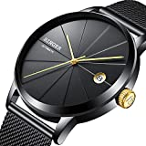 Binger Automatic Mechanical Sapphire Japan Movement Black Men's Wristwatch
