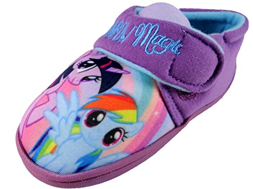 66d2207734 Girls My Little Pony Lilac Soft Touch House Slipper 6-12 (8 UK) - Buy Online  in Oman.