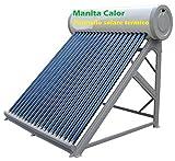 Sonnenkollektor heißes Wasser Tank Edelstahl 200Liter + Zusatzartikel