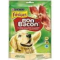 PURINA FRISKIES Bon Bacon Snack Cane Strisce all'Aroma di Bacon - 6 confezioni da 120g ciascuna