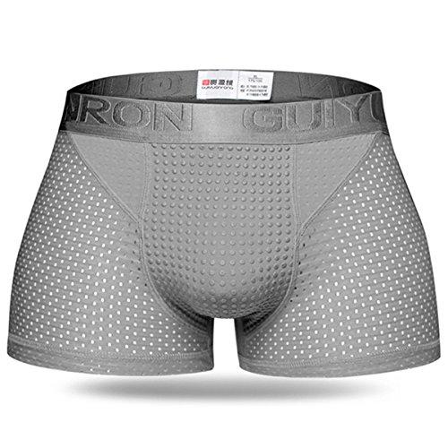 MODCHOK Men's Boxer Shorts Underwear Breathable Briefs Trunks Hipster Underpants